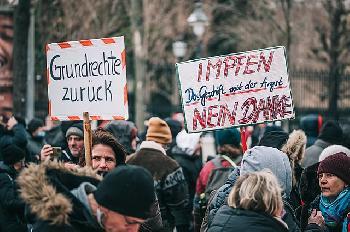Rede auf der Demo für Freiheit und Rechtsstaatlichkeit in Schmalkalden