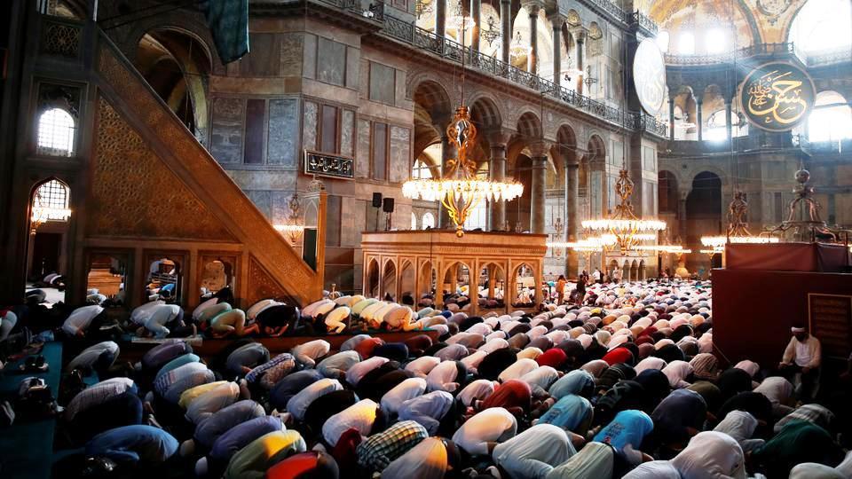 """Hagia Sophia: Ein wahres """"Zentrum des Wissens über den Islam"""""""