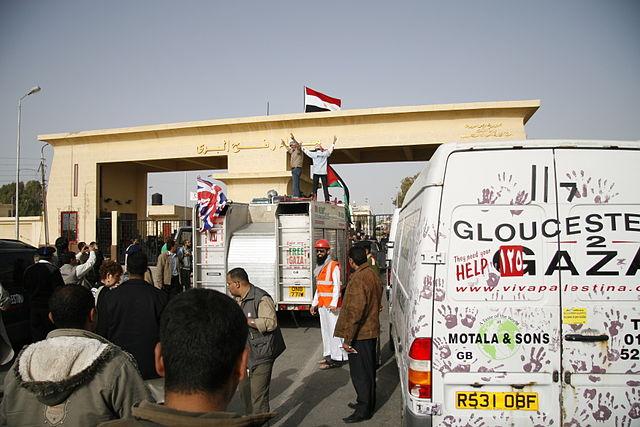 Israel fordert Ägypten auf, die Einfuhr von Zement und Baumaterialien nach Gaza zu stoppen