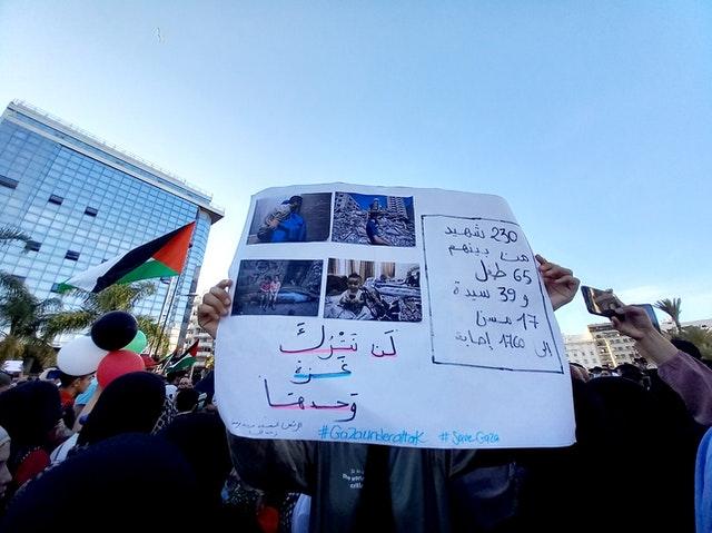 Neonazis in Linie mit Deutsch-Muslimen syrisch-libanesischer Herkunft gegen Israel