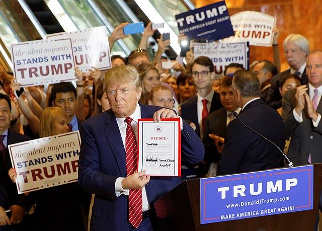 """Trump-Anhänger verklagt Stadt: """"Sie versuchen, mich zum Schweigen zu bringen"""""""