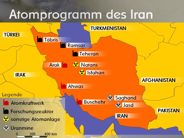 Angegriffene iranische Einrichtung stand auf israelischer Zielliste