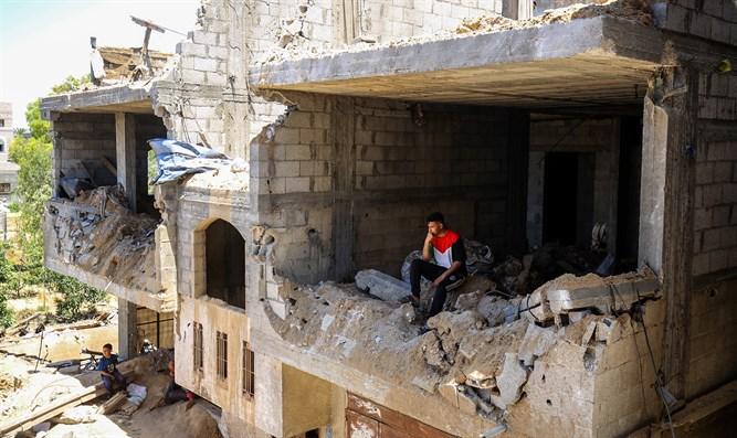 """Hamas fordert Aufhebung der """"Belagerung"""" und Wiederaufbau von Gaza"""