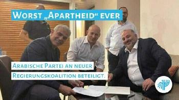 Ärger in Gaza über arabische Beteiligung an israelischer Koalition