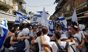 IDF in Alarmbereitschaft vor Festmarsch in Jerusalem, Iron Dome bereit
