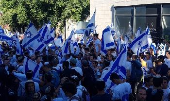 Jordanien verurteilt Jerusalemer Flaggenparade
