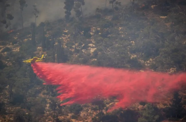 Israel schickt zwei Löschflugzeuge nach Zypern, um Brände zu löschen