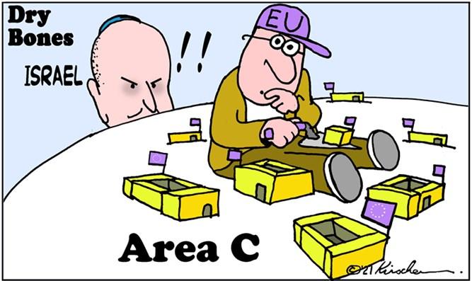 Israel signalisiert Ende der von der EU finanzierten, nicht genehmigten Gebäude in der Zone C