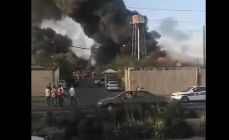 Feuer bricht in Teheraner Militäreinrichtung aus