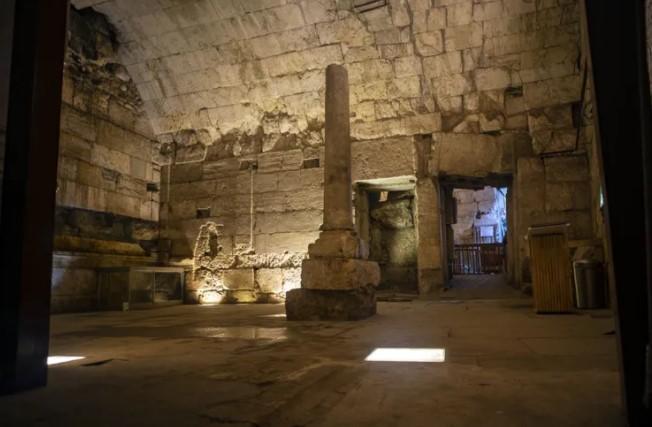 Prächtiges 2.000 Jahre altes Gebäude in der Nähe der Klagemauer ausgegraben