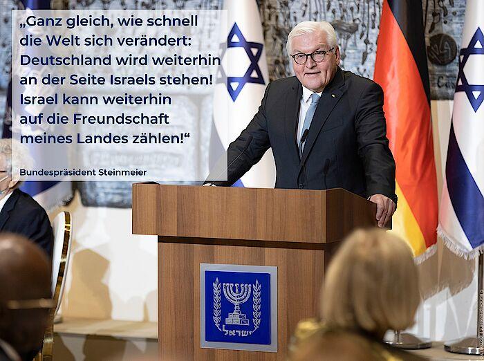 Steinmeier unterstützt »Israelkritiker« und Boykott-Unterstützer
