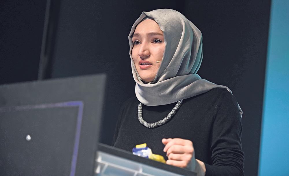 Linker jüdischer Koscherstempel für die Moslembrüderschaft in Deutschland