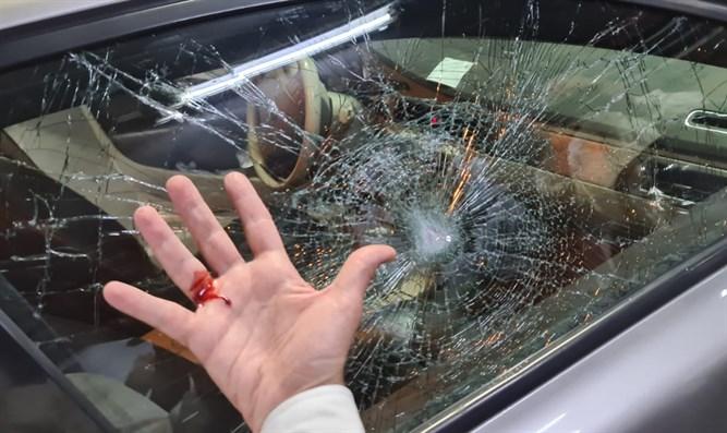 Araber, die den Safed-Oberrabbiner Shmuel Eliyahu mit Steinen bewarfen, festgenommen
