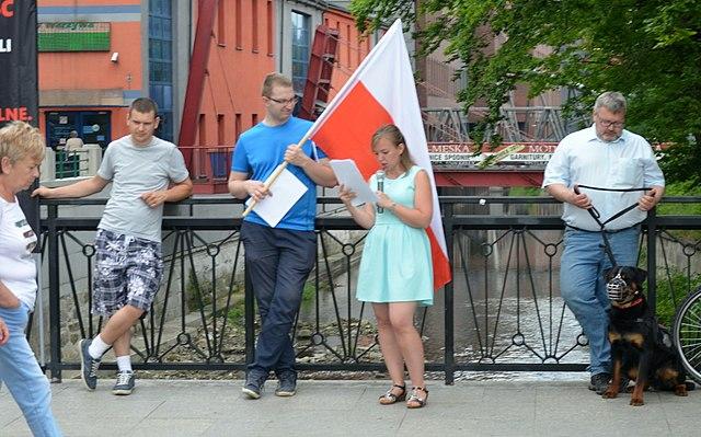Polnische Nationalisten stören Gedenken an jüdische Pogromopfer