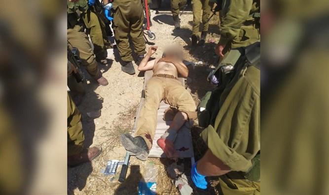 Terrorist bei Infiltration in die Stadt Samaria angeschossen