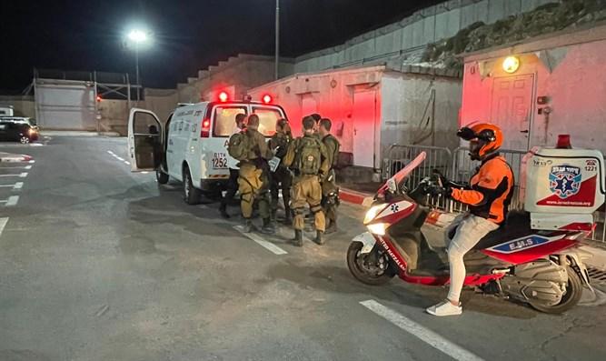 Wachmann bei Schießerei nördlich von Jerusalem verwundet
