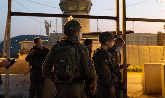 Dutzende Hamas-Terroristen in der Region Binyamin festgenommen