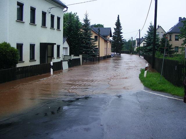 Die Hochwasser-Katastrophe gehört in den Wahlkampf