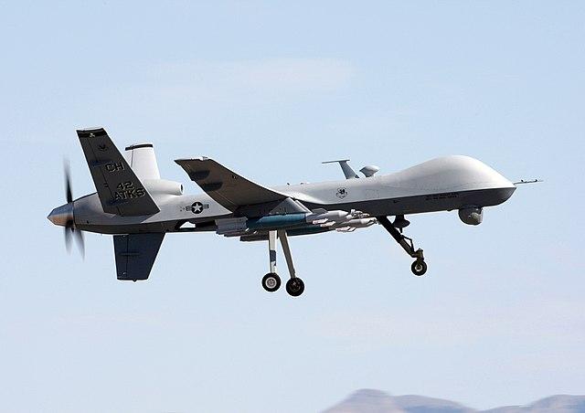 US-Drohne greift Lastwagen der pro-iranischen Miliz in Syrien an