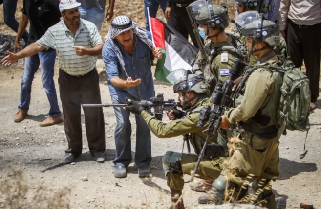Westjordanland: Dutzende Verletzte bei Zusammenstößen zwischen palästinensischen Randalierern und IDF