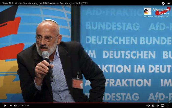 Heftige Reaktionen auf Josef Schusters AfD-Schelte aus Israel [Video}