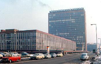 BILD TV vor dem Start - Axel Springer bastelte schon vor 6 Jahrzehnten am TV