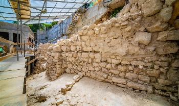 Erstes Segment der Jerusalemer Stadtmauer aus der Tempelzeit entdeckt [Video]