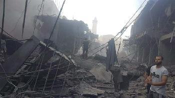 Explosion-in-GazaStadt