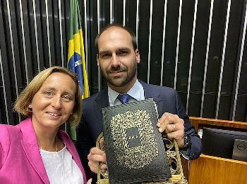 Beatrix-von-Storch-trifft-Eduardo-Bolsonaro-In-Brasilien