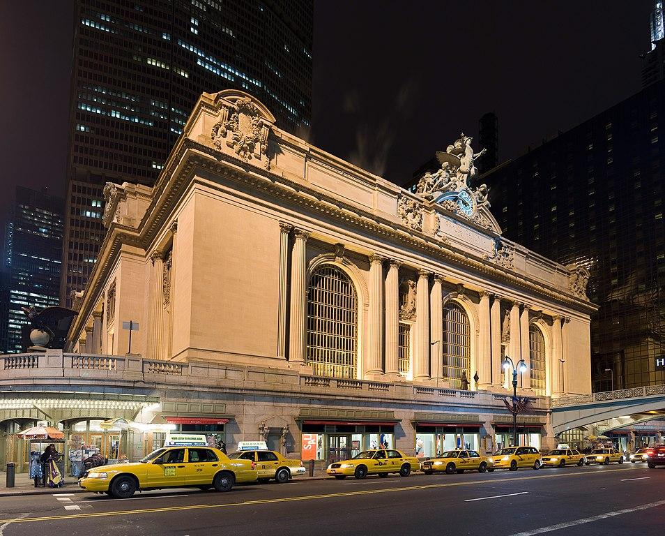 Der Bahnhof. New Yorks Grand Central ist der größte der Welt. Und?