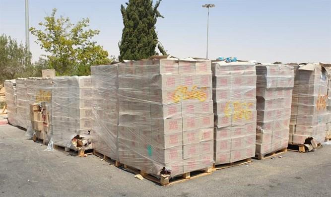 Lieferung von Schokoriegeln für Hamas beschlagnahmt