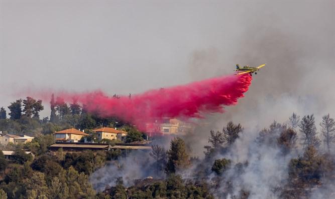 Israel bittet um internationale Hilfe zur Brandbekämpfung