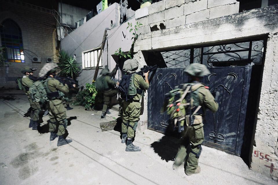 Terroristen, beim Einsatz von Sicherheitskräften in Jenin getötet