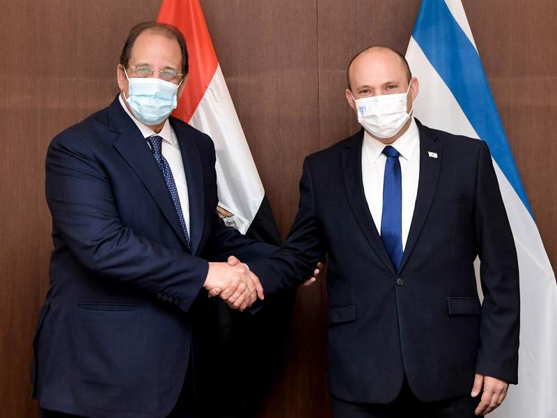 Treffen mit Ägyptens Geheimdienstminister