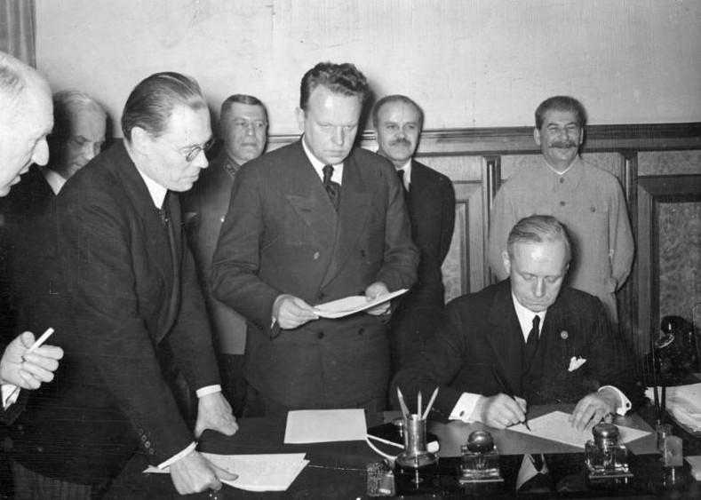 Der verdrängte Hitler-Stalinpakt