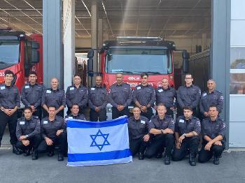 Israels--Feuerwehr-hilft-bei-Brnden-in-Griechenland