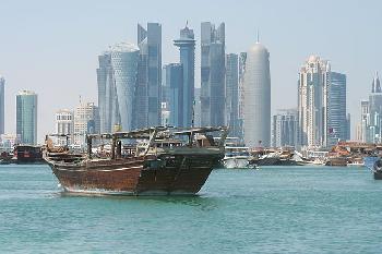 Katar-und-Regenbogen