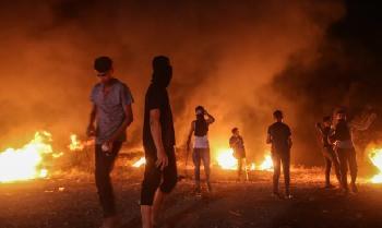 Nach-Grenzunruhen-und-Brandanschlgen-aus-der-Luft-startet-die-IDF-Luftangriffe-auf-Gaza