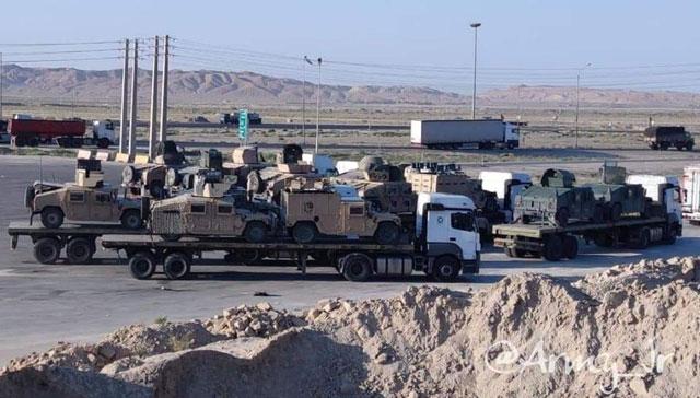 Taliban liefern US-Militärmaterial in den Iran