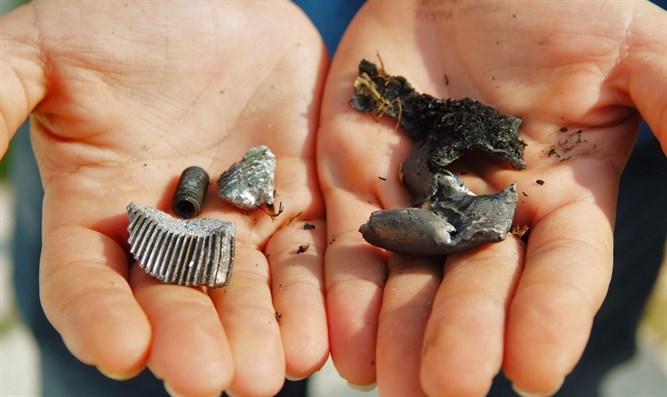 Fragmente einer syrischen Rakete in Zentralisrael gefunden