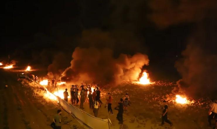 Palästinenser stirbt bei Zusammenstößen am Grenzzaun zum Gazastreifen