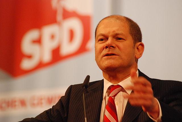 Wer Scholz wählt, wählt Rot-Rot-Grün!