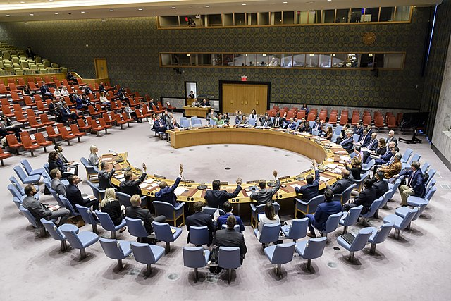 Verstösse für die sich der UN-Sicherheitsrat nicht interessiert