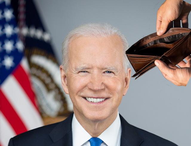 Biden ruiniert den Finanzhaushalt der USA