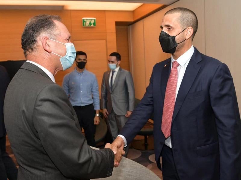 Bahrainischer Botschafter trifft in Israel ein