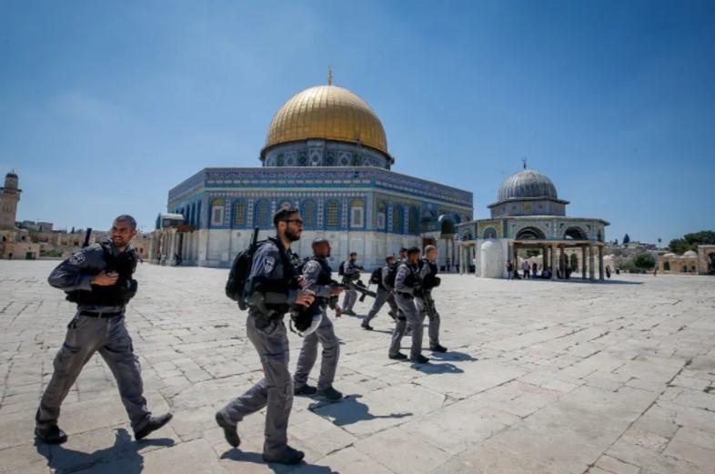 """Israels Polizei in Alarmbereitschaft, nachdem Hamas den """"Tag der Wut"""" ausgerufen hat"""