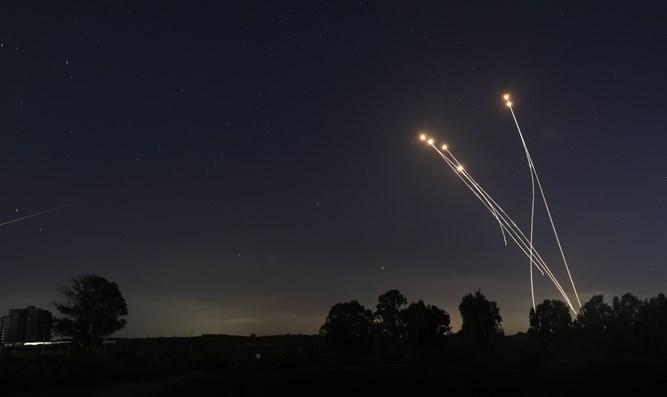 Iron Dome fängt Rakete aus dem Gazastreifen ab