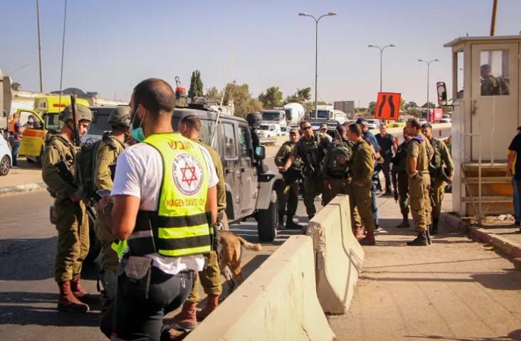 Messerstecherei in Gush Etzion im Westjordanland