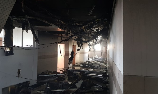 Wunder in Modi`in Illit: Feuer bricht in Grundschule aus