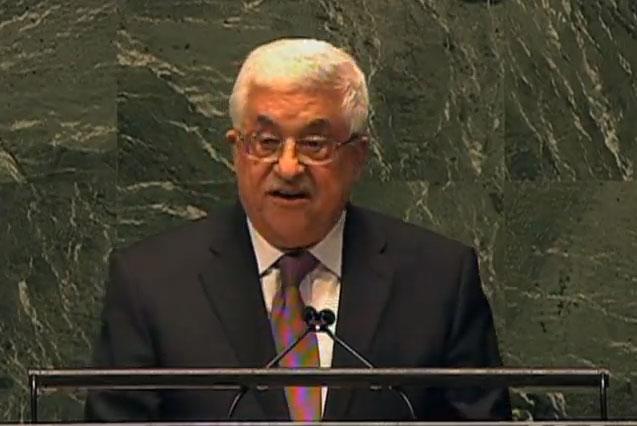 """Abbas: Israel """"zerstört die Zwei-Staaten-Lösung"""""""